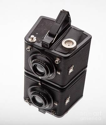 Film Camera Photograph - Kodak Brownie Film Camera Mirror Image by Edward Fielding