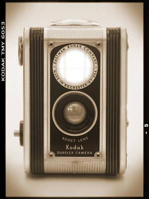 Kodak Duaflex Camera Print by Mike McGlothlen