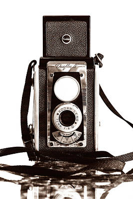 Kodak Photograph - Kodak Duaflex Iv Camera by Jon Woodhams