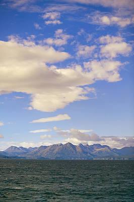 Kodiak Island As Seen From Alaska Print by Kevin Smith