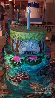 Missouri Botanical Garden Stl250 Cakeway To The West 2 Original by Genevieve Esson