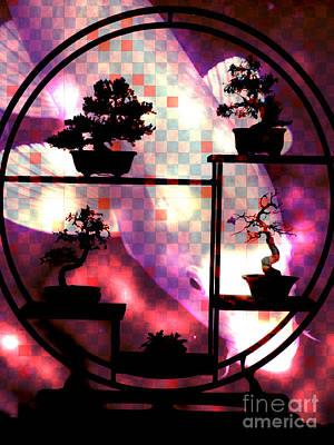 Koi Digital Art - Koi Screen by Robert Ball
