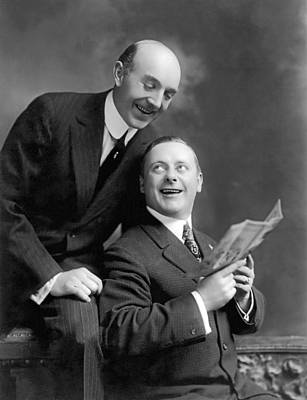 Actor Photograph - Kolb & Dill Vaudeville Team by Underwood Archives