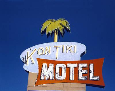 Kon Tiki Motel Print by Matthew Bamberg