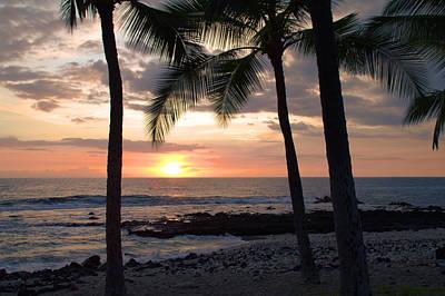Kona Sunset Print by Brian Harig