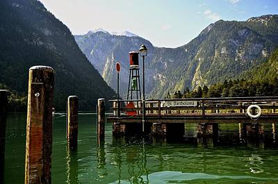 Konigssee Germany Print by Marty  Cobcroft