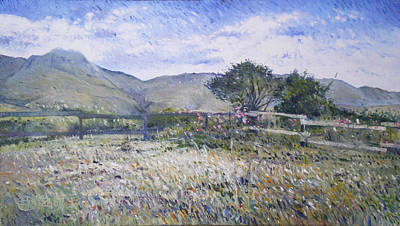 Painting - Kopberg Eastern Cape South Africa  by Enver Larney