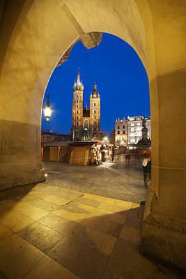 Cracow Photograph - Krakow By Night by Artur Bogacki