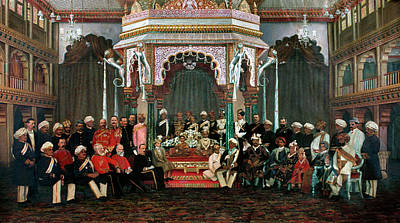 Raja Painting - Krishna Raja Wadiyar Iv (1884-1940) by Granger