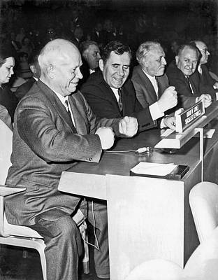 Nikita Photograph - Krushchev At United Nations by Underwood Archives