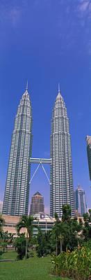 Twin Towers Photograph - Kuala Lumpur, Malaysia by Panoramic Images