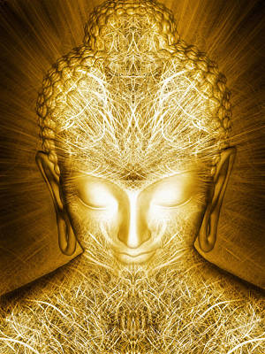 Liberation Digital Art - Kundalini Awakening by Jalai Lama