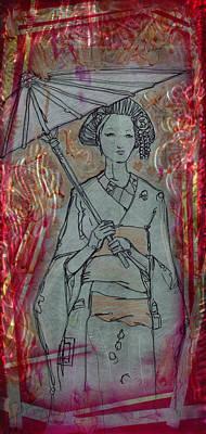 Kyoto Painting - Kyoto Girl by Luis  Navarro