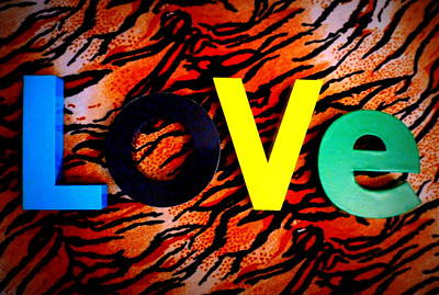 L O V E Print by The Creative Minds Art and Photography