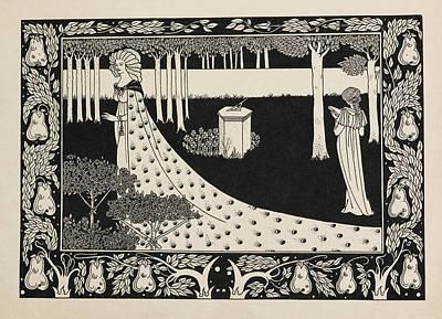 Arthurian Photograph - La Beale Isoud At Joyous Gard by British Library