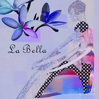 La Bella - J647152-04 Print by Variance Collections
