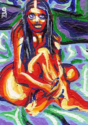 La Blakole Print by Ian Oliver