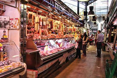 Boqueria Photograph - La Boqueria In Barcelona by Nancy Ingersoll