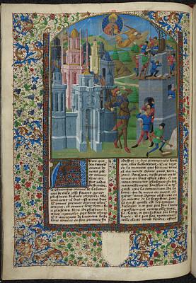 La Bouquechardiere Print by British Library