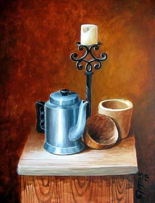 La Cafetera Print by Edgar Torres