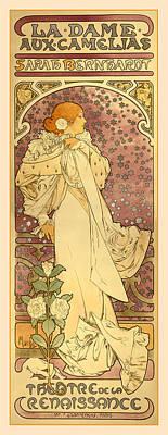 La Dame Print by Gary Grayson