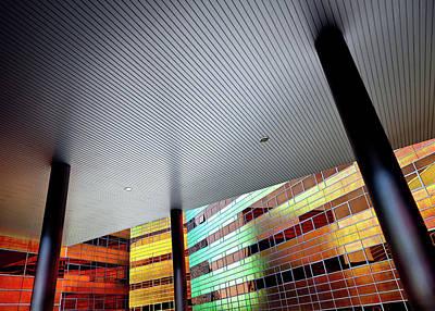 Building Exterior Photograph - La Defense by Dave Bowman