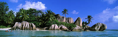Pleasure Photograph - La Digue, Island, The Seychelles, Africa by Panoramic Images