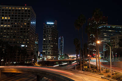 La Down Town 2 Print by Gandz Photography