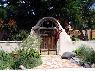 Mesilla Photograph - La Entrada A La Casa Vieja De Mesilla by Kurt Van Wagner