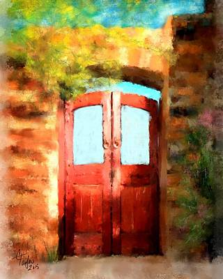 The Scarlet Entrance Original by Colleen Taylor