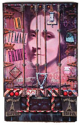 La Femme Fatale Print by Blue Sky