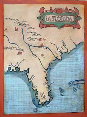 La Florida  Original by Deborah  Reid