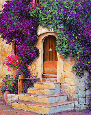 France Doors Painting - La Grange by Michael Swanson