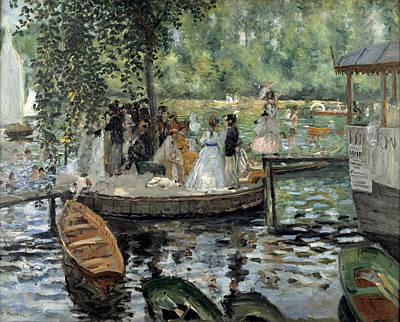 Pierre-auguste Renoir Painting - La Grenouillere by Pierre-Auguste Renoir