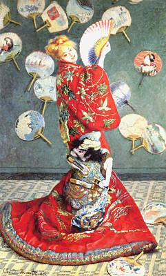 La Japonaise Print by Claude Monet