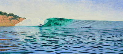 Recycled Painting - La Jolla Gem by Nathan Ledyard