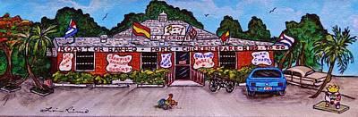 La Lechonera Restaurant Key West Florida Original by Lois    Rivera