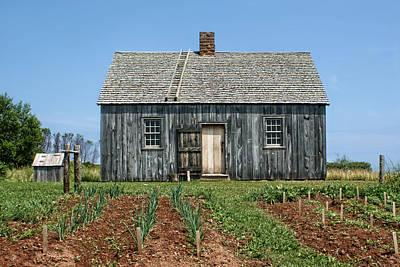 Acadian Photograph - La Maison Doucet by Nikolyn McDonald