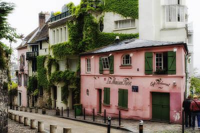 La Maison Rose Print by Georgia Fowler