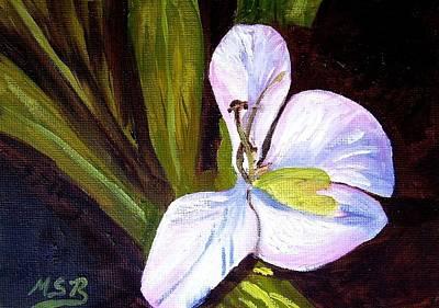 Painting - La Mariposa 2 by Maria Soto Robbins