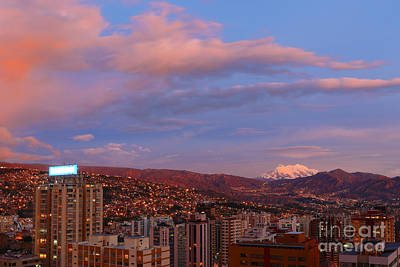 La Paz Twilight Print by James Brunker