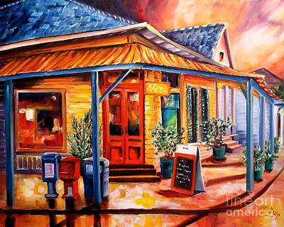 Local Restaurants Painting - La Peniche In New Orleans by Diane Millsap