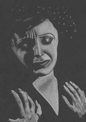 La Piaf Print by Inga Klein