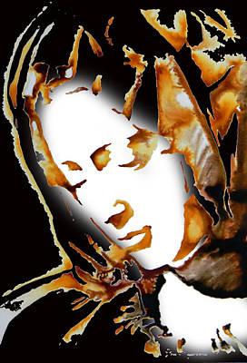 La Pieta Face By Michalengelo Print by Jose Espinoza