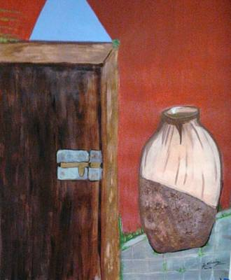 Decoraci Painting - La Puerta by Davileine Borrego