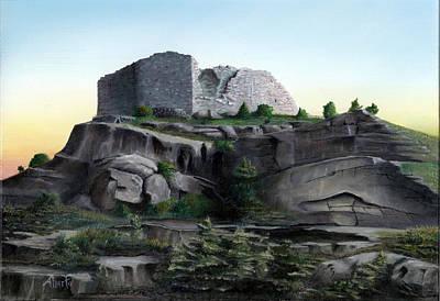 La Rocca De Monte Calvo Original by Albert Puskaric