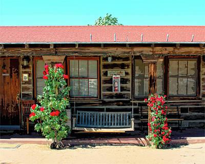 La Rosa Motel Pioneer Town Print by William Dey