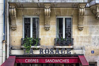 Pause Photograph - La Rosage by Georgia Fowler