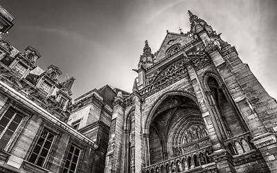 Paris Photograph - La Sainte-chapelle Version 2 by Tim Stanley