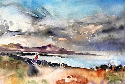 Lanzarote Painting - La Santa In Lanzarote 02 by Miki De Goodaboom